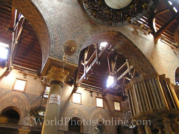Coptic Cairo – Hanging Church – Ceiling 1