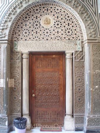 Coptic Cairo – Hanging Church – Door