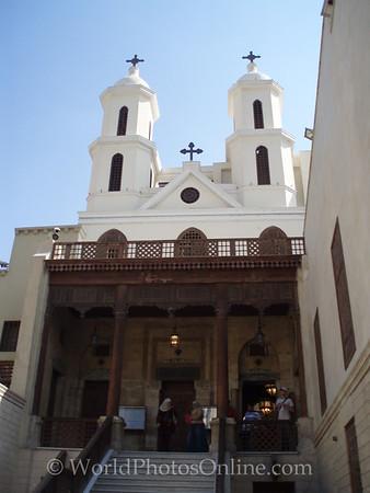 Coptic Cairo – Hanging Church – Main entrance