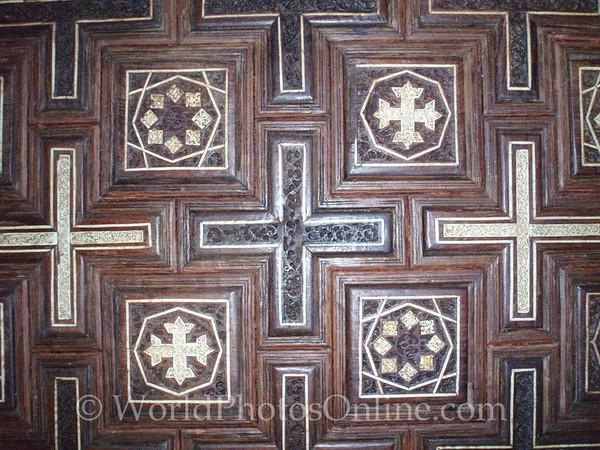 Coptic Cairo – Hanging Church – Wall Panel