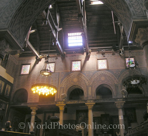 Coptic Cairo – Hanging Church – Ceiling 2