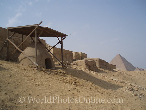 Giza - Workman Tombs - Beehive Tomb of Worker