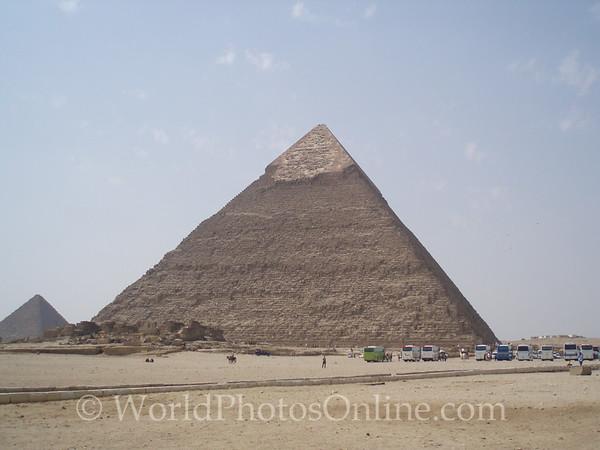 Cairo - Giza - Pyramid of Khafre