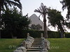 Cairo - Giza - Great Pyramid from Oberoi Mena House Garden