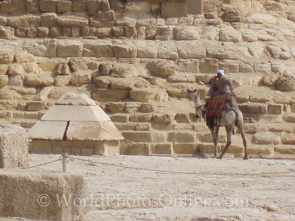 Cairo - Giza - Limestone Top of Great Pyramid