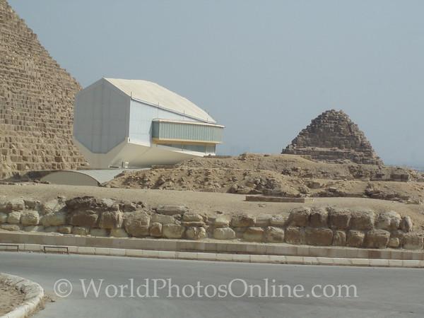 Cairo - Giza - Solar Boat Museum