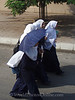 Cairo - Girls walking home from School