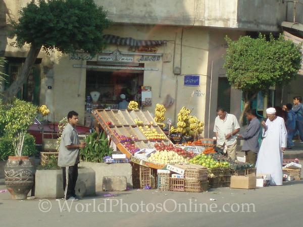 Cairo - Street Fruit Seller