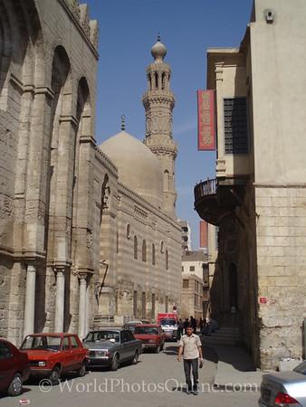 Islamic Cario - Madrasa and Mausoleum of Sultan al-Zahir Barquq 2