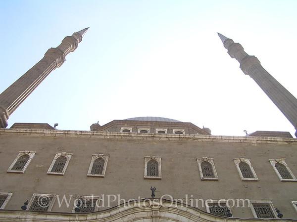 Cairo - Citadel - Mosque of Mohammed Ali - Minarets