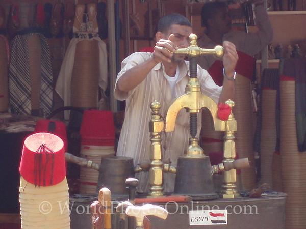 Cairo - Making a Fez