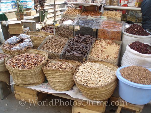 Cairo - Khan al-Khalili Bazaar - Nuts & Fruits