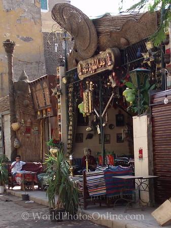 Islamic Cairo - Street cafe