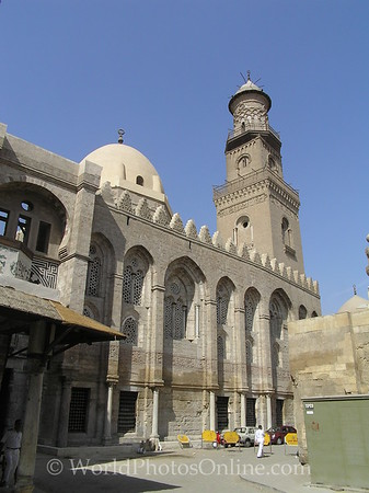 Islamic Cario - Complex of Qala'un - mosque, mausoleum, & hospital