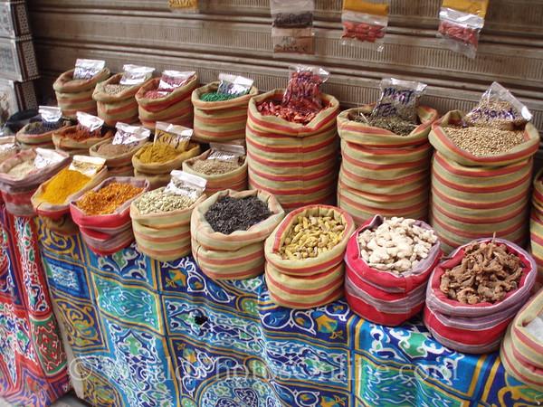 Cairo - Khan al-Khalili Bazaar - Spices