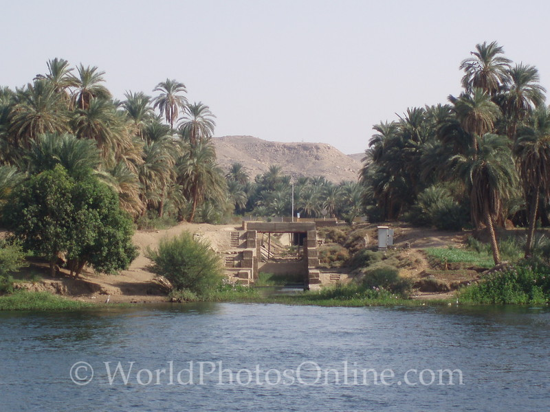 Nile River - One of the Irrigation Locks