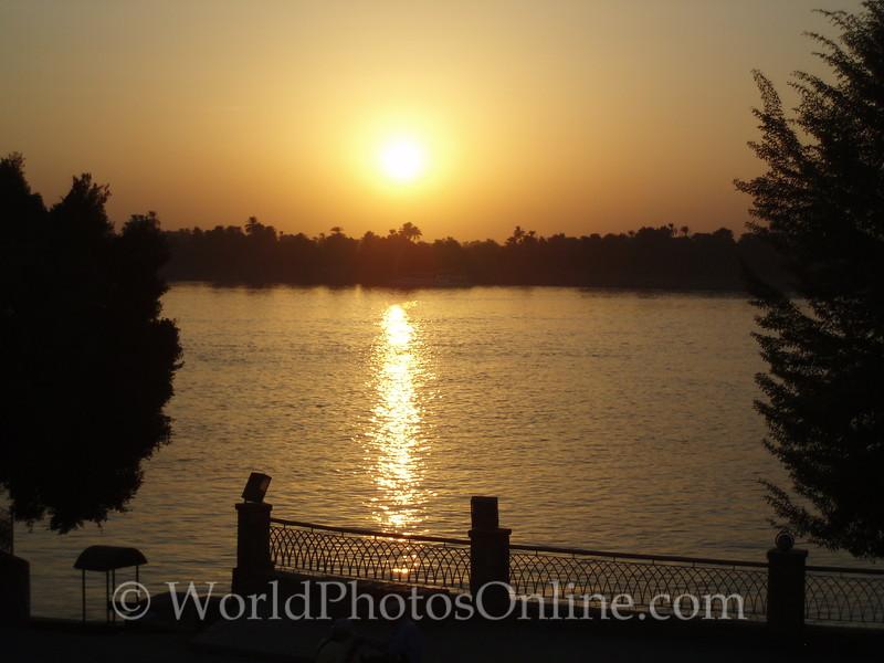 Nile River - Sunset on the Nile