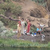 Nile River – Friendly Egyptians wave at our boat 2