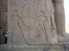 Luxor Temple - Hieroglyph of Gods pouring Silt down the Nile