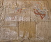 Karnak - Hieroglyph - Hatshepsut chipped out of relief