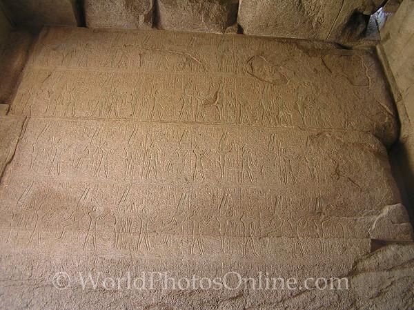 Karnak - Hieroglyph in Amun Sacred Sanctuary