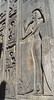 Luxor Temple - Back of Statue - Hieroglyph of Seshat (Goddess of Architecture).