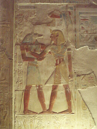 Abydos - Relief of Seti I and Anubis