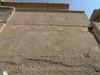 Karnak - Hieroglyph of Purifying Pharaoh on way to temple