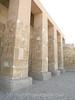 Abydos - Temple of Osiris - Close-up of exterior columns