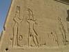 Dendara - Temple of Hathor - Cleopatra & Caesarion (Julius Caesar's son).