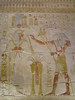 Abydos - Temple of Osiris - Wall Relief of Thoth and Osiris