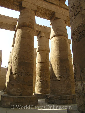 Karnak - Great Hypostyle Hall 4