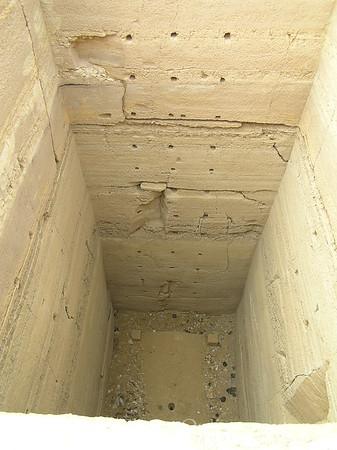 Sakkara - Pit for Mastaba (Crack ended tomb construction)