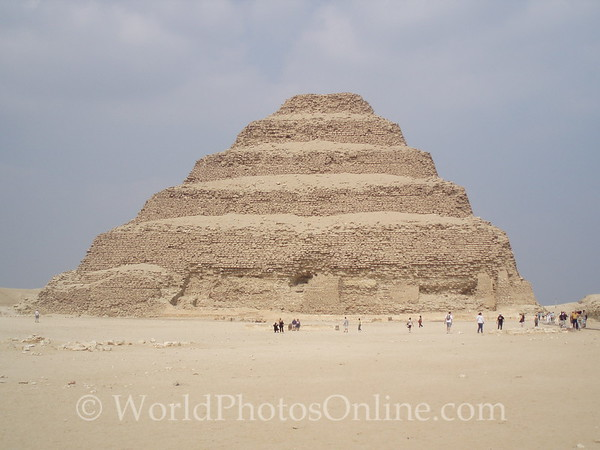 Cairo - Sakkara - Stepped Pyramid