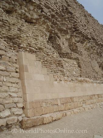 Sakkara - Stepped Pyramid Remaining Limestone Facing Blocks
