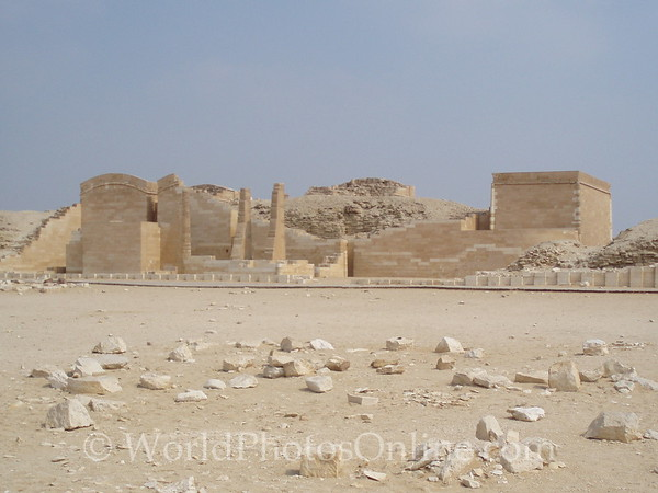 Sakkara - Zoser's Funerary Complex - Heb-Sed Court