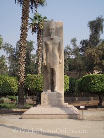 Memphis - Statue of Ramses II
