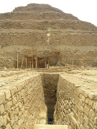 Sakkara - Entrance to Stepped Pyramid