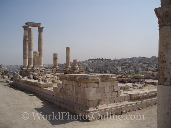 Amman - Roman Temple of Hercules on the Citadel