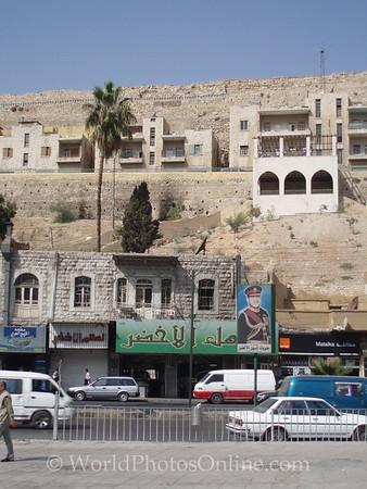 Amman - Citadel from Roman Theater