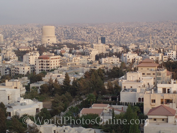 Amman - View of Amman from Four Seasons Hotel