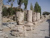 Amman - Columns in front of Roman Theater
