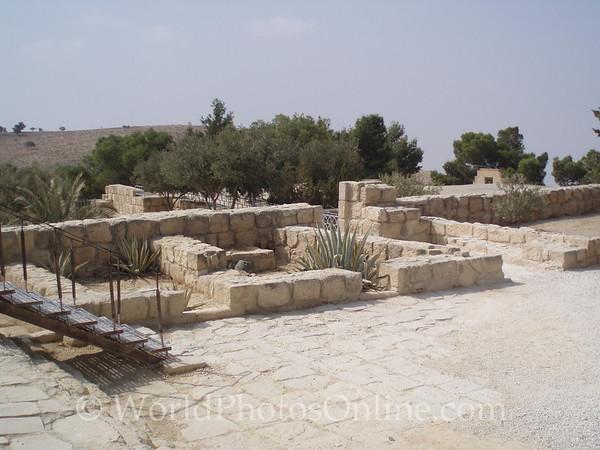 Mt Nebo - Ruins of Monastery