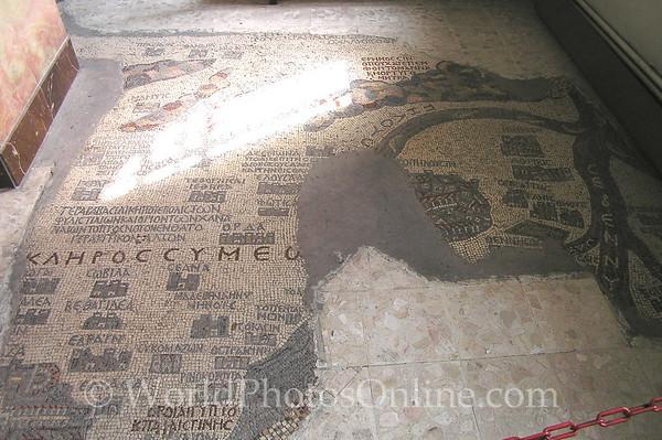 Madaba - St Georges Church - Mosaic Map of Holy Land 2
