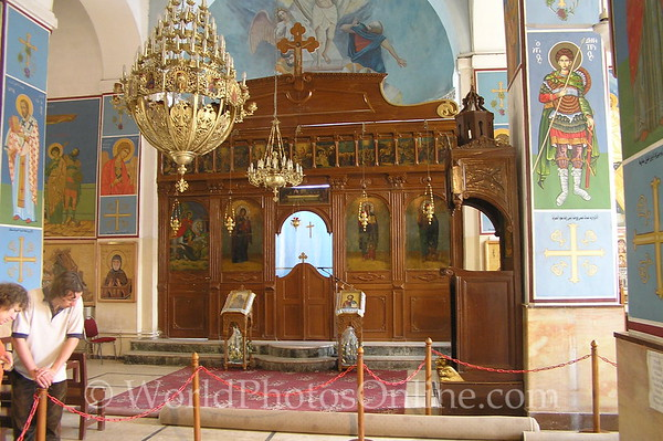 Madaba - St Georges Church Interior