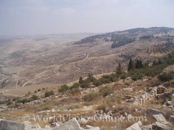 Mt Nebo - View of Jordan