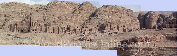 Royal Tombs - Panarama