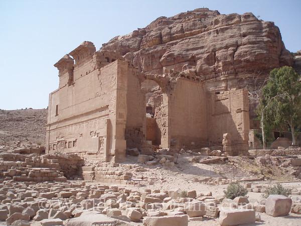 Petra - Qasr Al-Bint (Temple to the god Dushara)