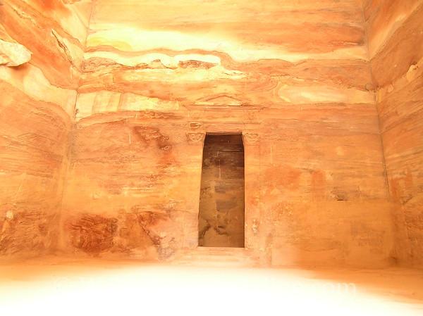 Petra - Treasury Interior