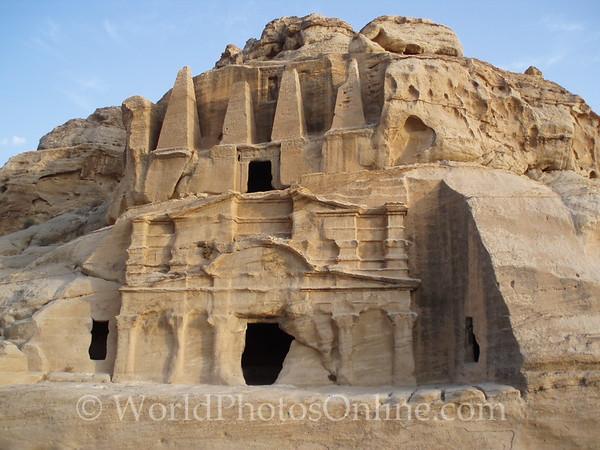 Petra - Obelisk Tomb